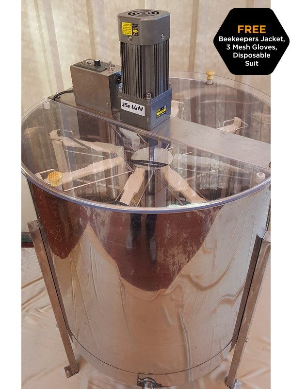0310238cd08 8 Frame Electric Honey Extractor. Freight extra